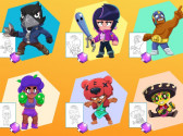 Coloring Pages For Brawl Stars